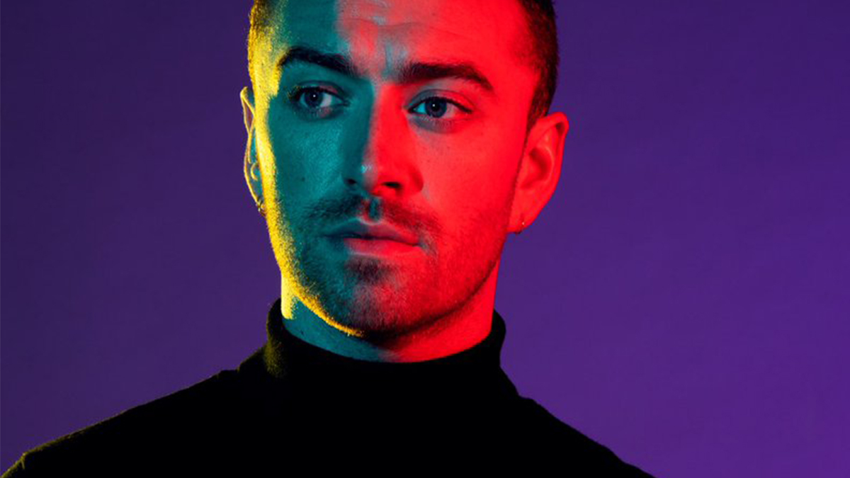 "Sam Smith como capa do seu novo single ""How Do You Sleep?"""