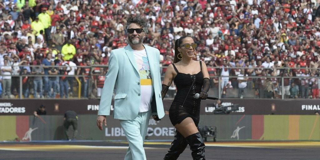 Anitta na Libertadores 2019