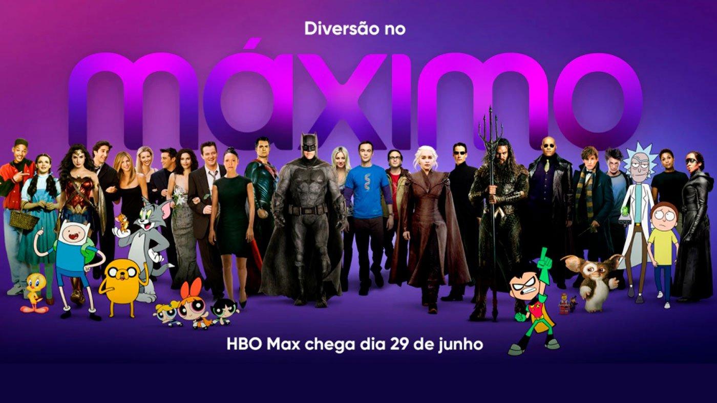 HBO Max lançamento no Brasil